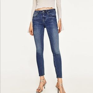 "Zara ""The Skinny in Viola Maldives"" Jeans"